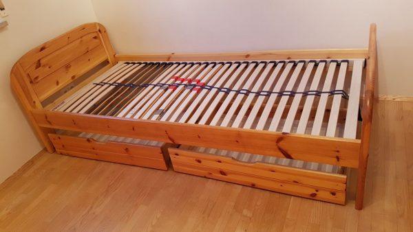 kieferbett mit lattenrost 90 200 cm fn kleinanzeigen. Black Bedroom Furniture Sets. Home Design Ideas
